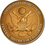 u.s.DISTRICT COURT CENTRAL DISTRICT