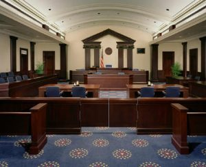 Columbia South Carolina federal Courtroom
