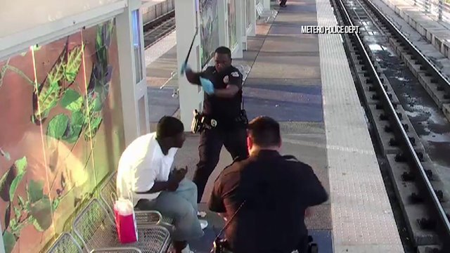 Ex-Cop Resigns After Attacking Homeless Man (Video)