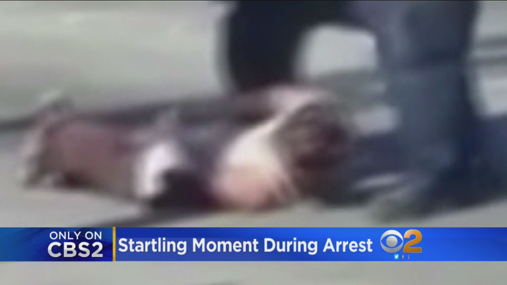 Federal Cop Caught on Video Kicking Handcuffed Suspect in the Head