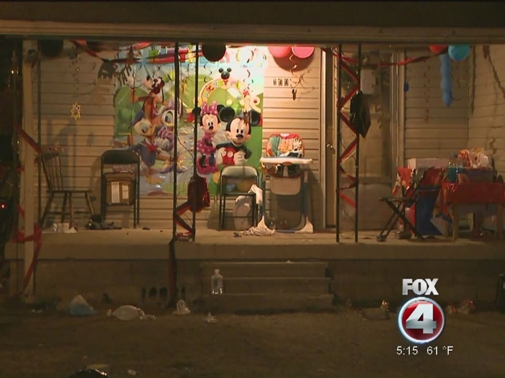7 people shot at 2-year-old's birthday party, 1 killed, suspect arrested