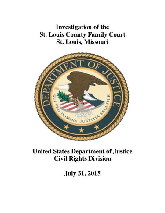 St. Louis County Family Court Agrees to End Racial Discrimination Practices Against Black Youth