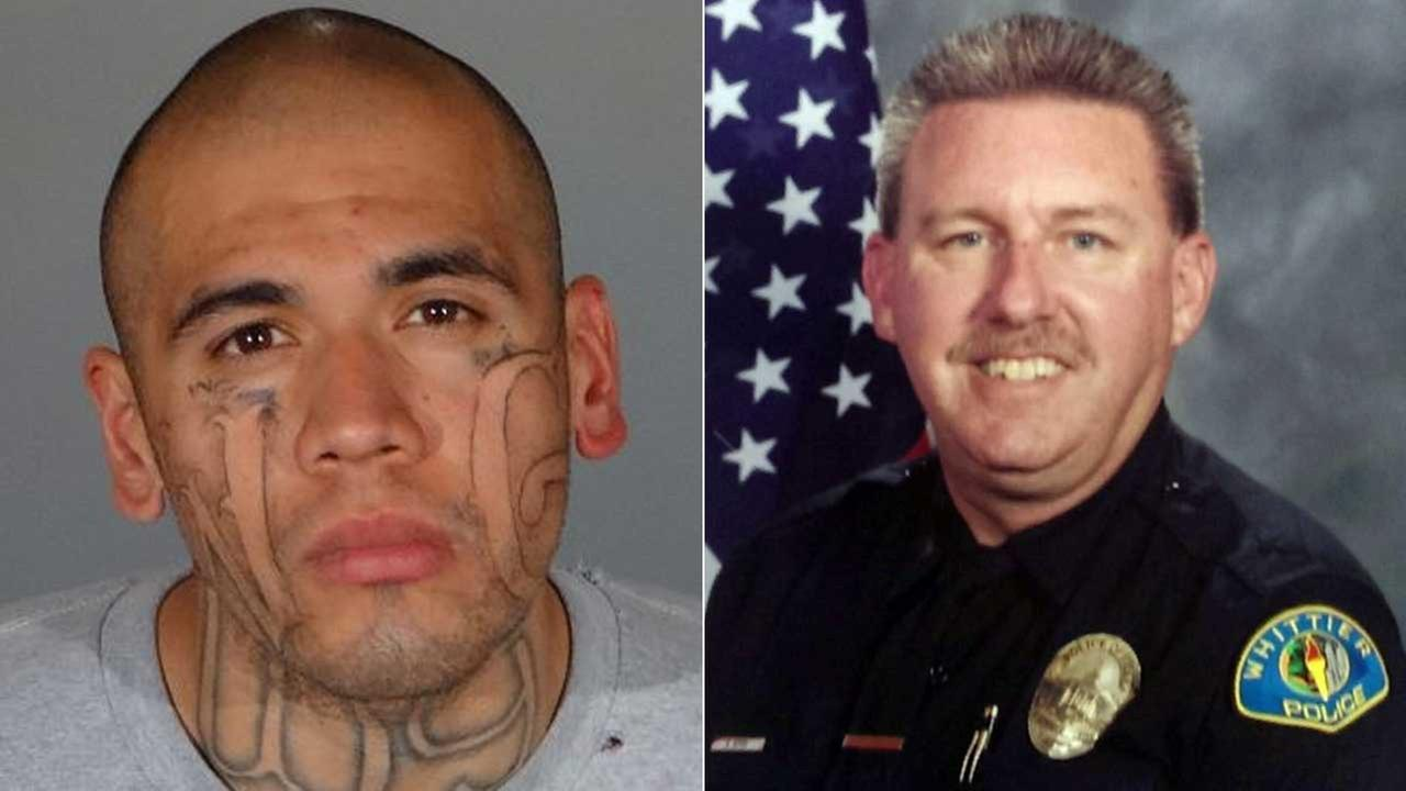 Known Gang Member' Suspected of Killing Police Officer in Whittier, Cousin in East L.A.