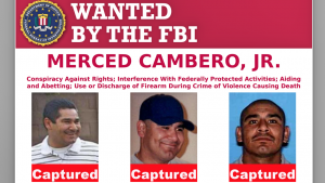 FBI WANTED CAMBRIA