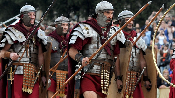 Roman Soldiers Could March 20 Miles a Day Wearing Armor and Other Facts