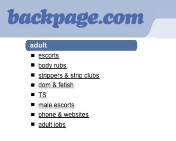 Feds Seize Backpages.com for Prostitution Ads, Charge Seven