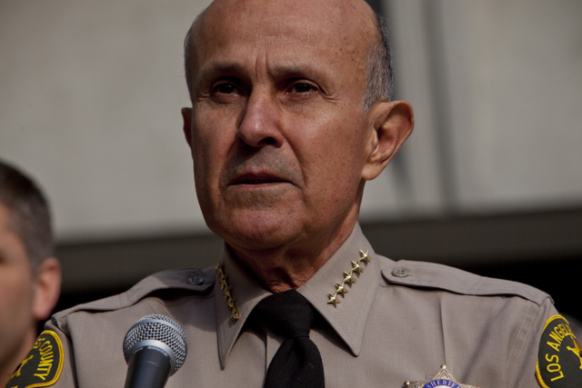 Former Sheriff Baca Sentenced to Three Years in Prison for Jail Corruption