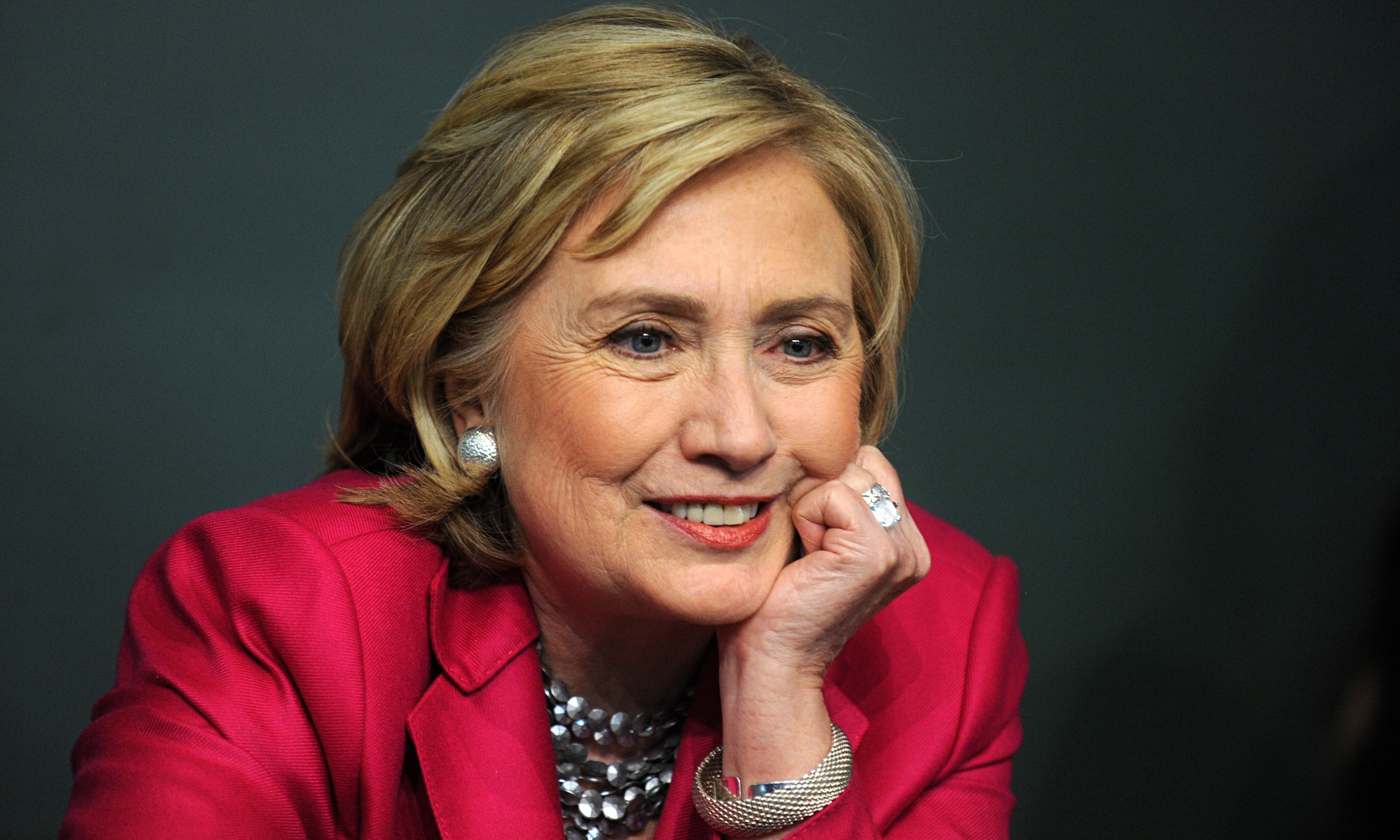 Hillary Rodham Clinton Signs Copies Of Her Book 'Hard Choices' In ... - HILLARY-CLINTON