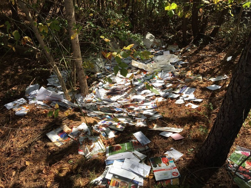 Ex-Postman Charged with Illegally Discarding 4,500 Pieces of Mail
