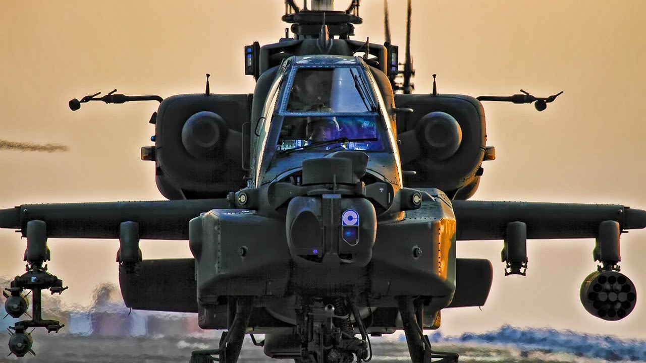 Man Admits to Overhauling Parts Used for Apache Military Helicopters